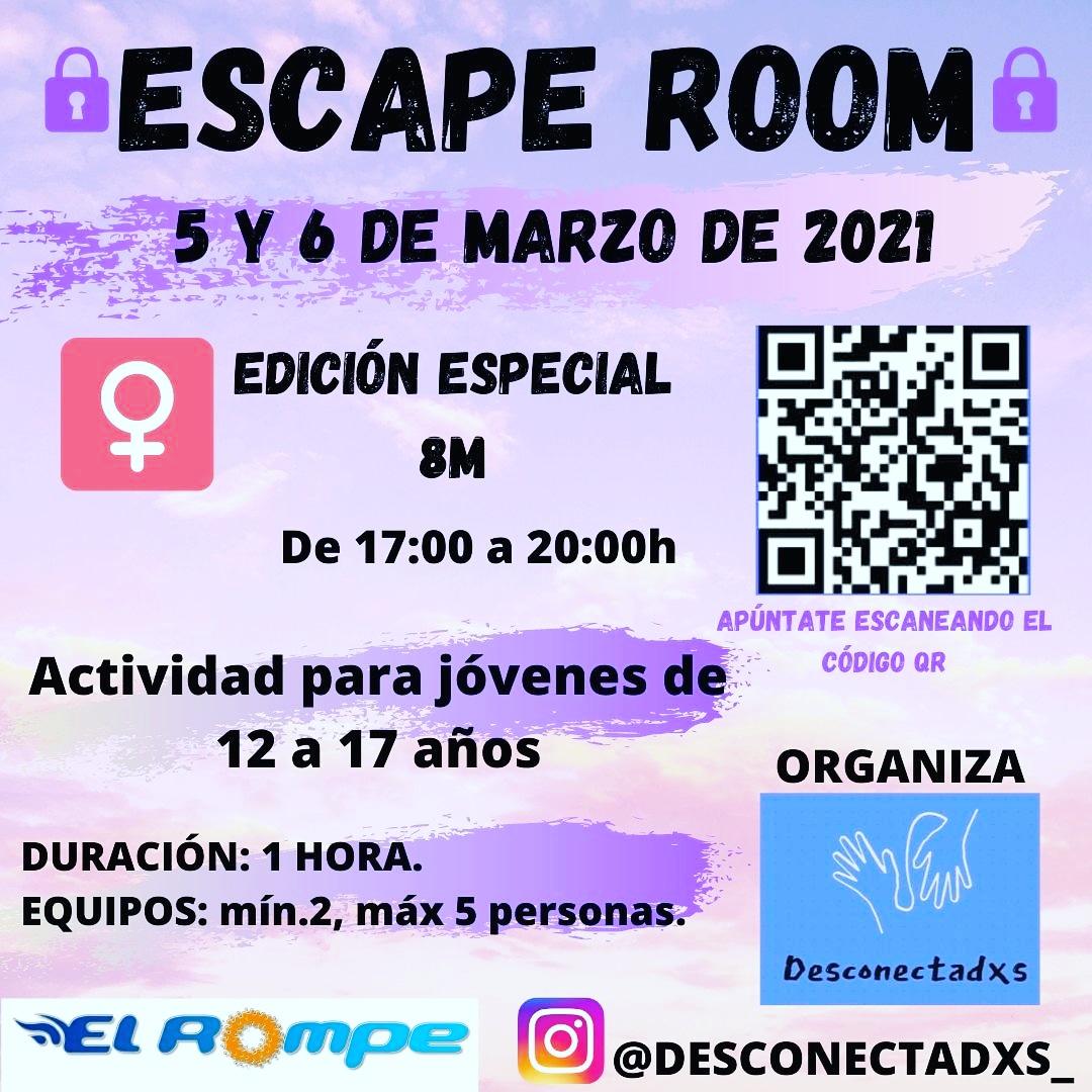 SCAPE ROOM EDICIÓN ESPECIAL 8M