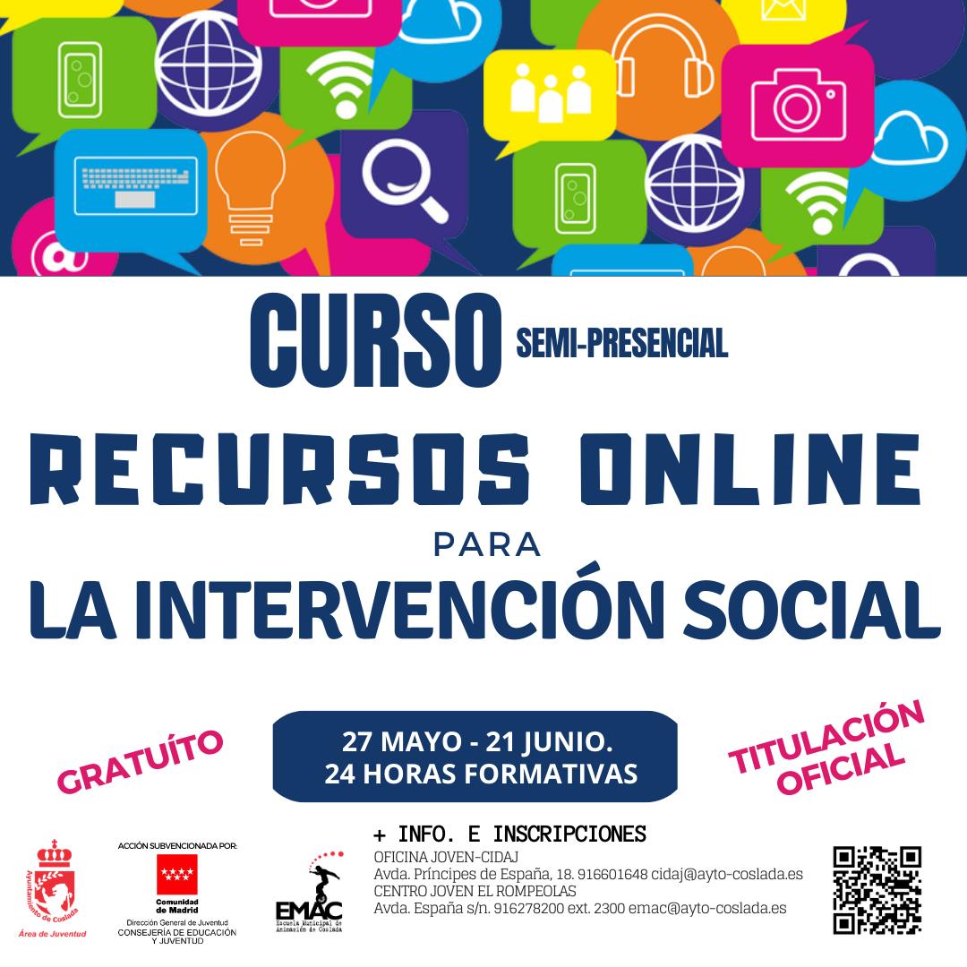 RECURSOS ON LINE PARA LA INTERVENCIÓN SOCIAL
