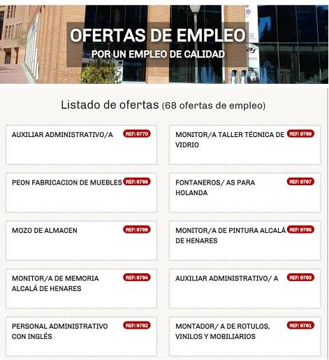AGENCIA DE COLOCACIÓN DE COSLADA